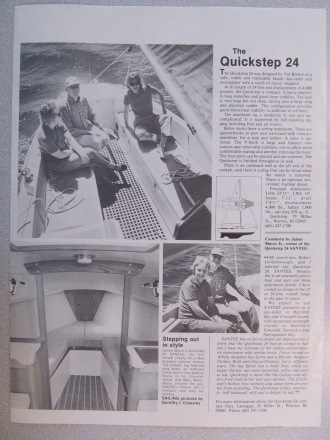 Sailing Magazine Q24 Article