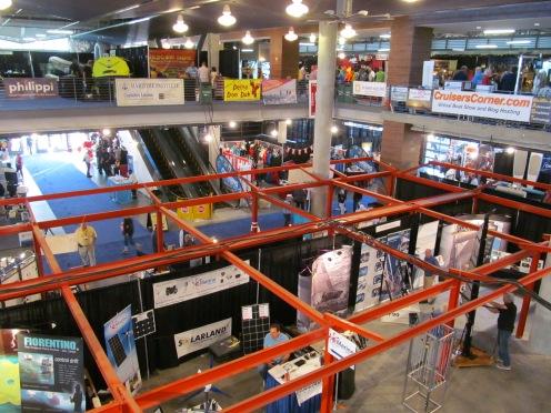 Vendors inside.
